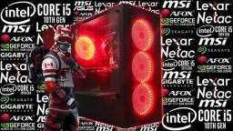 PC Gamer i5-10400F + GT 1030 | Novo c/ Garantia!