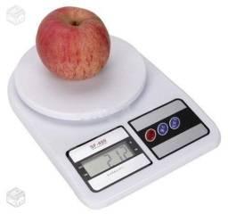 Balança de Cozinha 10kg Digital 1 grama até 10 Quilos Receitas Nova - Loja Natan Abreu