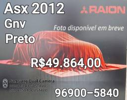 Asx 2012 Gnv Preto Automático Oportunidade