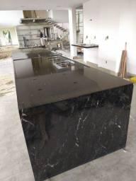 Polimento e revitalização em mármores e granitos