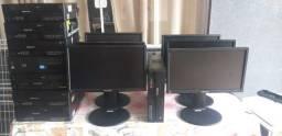 Cpus Slim i3-3240 Ger. 3 4 GB 500 HD com ou sem monitor 17 reg. de altura. e gir.