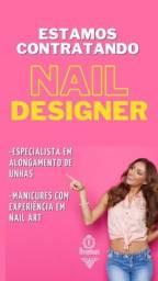 Manicure/Pedicure com experiência em Nail Art e Alonguista