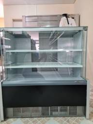 Balcão refrigerador Gelopar 1,10mts novo