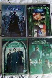 DVDs Coleção Trilogia Matrix (4 DVDs originais)