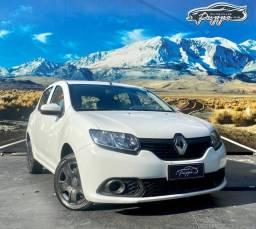Título do anúncio: Renault Sandero Authentique 1.0 Flex Manual 2020
