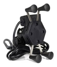 Suporte com saida de USB para carregamento de Smartphones