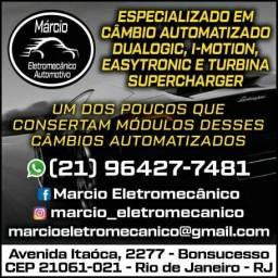 Márcio Eletromecânico Automotivo - Câmbio Automatizado e Turbina