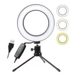 Ring Light Led 16cm - Para mesa