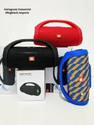 Caixa De Som Jbl Boombox Mini 20 Watts Bluetooth FM Para IPhone e Celular Android