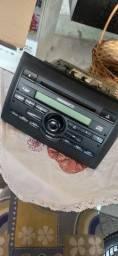 Radio Som Am Fm Cd Player Mp3 Fiat Connect Stilo 2006/2008