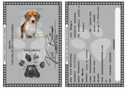 RG personalizado para seu pet