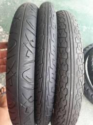 Vendo esses pneus de moto dianteiro