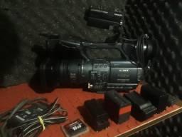 Filmadora sony hdr-fx1 + gravador hvr-mrc1 (aceito troca