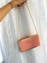 Bag carteira que vira bolsa