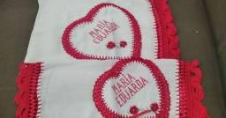Vendo kit de fralda com nome María Eduarda