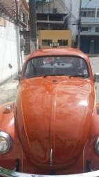 Fusca 74 carro de garage