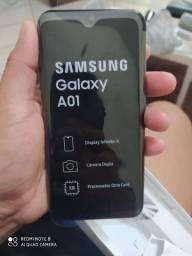 Celular da Samsung A01 novo