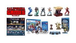 Bonecos Skylanders Disney Infinity Amiibo Starlink Lego Dimensions