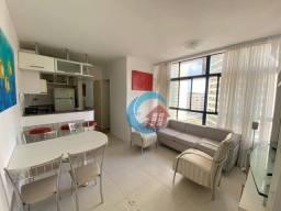 Studio com 1 quarto para alugar, 38 m² por R$ 1.800/mês - Pina - Recife/PE