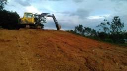 Vendo escavadeira volvo Ec55 b