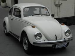 Vw - Volkswagen Fusca 1600 Placa Preta Raridade - 1984