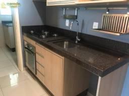 Apartamento semi mobiliado com 03 quartos no Bairro Vila Lenzi