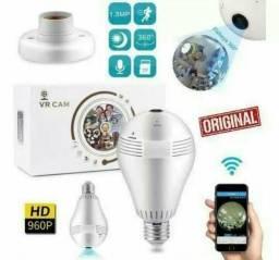Lâmpada Espiã Led Wi-Fi Grava, Função Alarme Filmagem De 360° Promoção