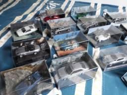 Coleção de 15 carros dos filmes 007 escala 1;43 coleção completa