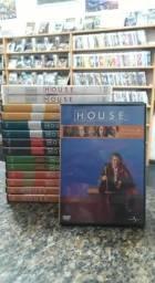 DVD Box House - A Série Completa - 1ª A 8ª Temporada - 46 Discos