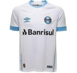 Camisa do Grêmio Oficial Branca 2018 Masculina 875d3f7373b10