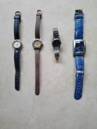 433c6b20319 Vendo quatro relógios femininos