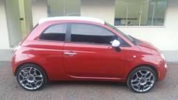 Fiat 500 1.4 completo 2011/2012 - financiamos - 2012