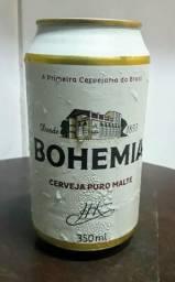 Latas de cerveja Bohemia