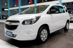 CHEVROLET SPIN 1.8 LS FLEX 4P MANUAL 6M - 2018 - BRANCO
