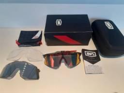 Óculos de ciclismo 100% hypercraft full pac 3 lentes original