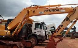 Escavadeira HYUNDAI 210 LC