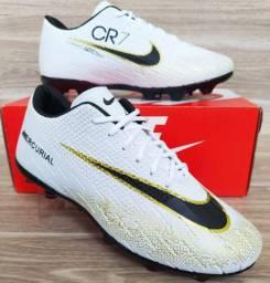 Chuteira Campo Nike White