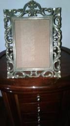 Porta retrato em bronze