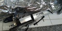 Transbike De Teto Cyel Em Alumínio Com Fixação No Eixo