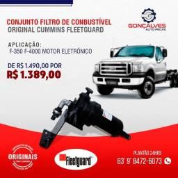 CONJUNTO FILTRO DE COMBUSTÍVEL ORIGINAL CUMMINS FLEETEGUARD