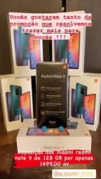 Xiaomi Redmi note 9 128 GB - Leia a descrição