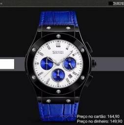 Relógio masculino original Skmei cronógrafo premium