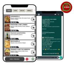 Cardápio online para Delivery