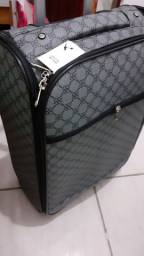 Conjunto de malas de rodinhas com bolsa de mao