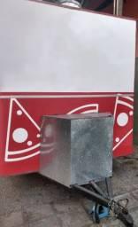 Vendo Food Truck de Lanche (Reboque fechado/trailer)