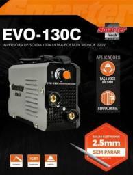 Maquina Inversora De Solda Mini Evo 130c Smarter Itech Pró