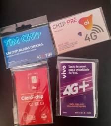 Chip tim pré pago 4G