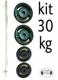 Kit Barra Pump Musculação