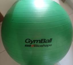 Bola de Pilates 75 cm com suporte de parede e bomba