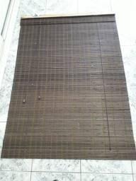 Persiana para janela material de bambu tamanho altura 1,50 largura 1,00
